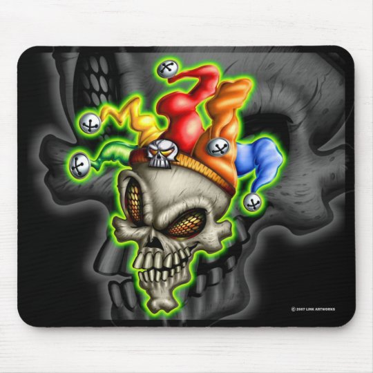 Jester Mouse Pad