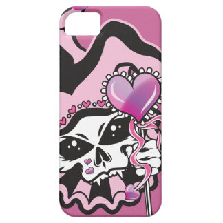 Jester of Hearts Skull iPhone SE/5/5s Case