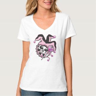 Jester of Hearts Skull T-Shirt