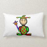 Jester (plain) throw pillow