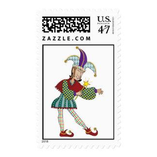 Jester Postage