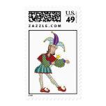 Jester Postage Stamp