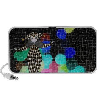 Jester`s Mosaic Balloons Portable Speaker