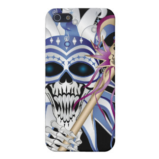 Jester Skull Cover For iPhone SE/5/5s