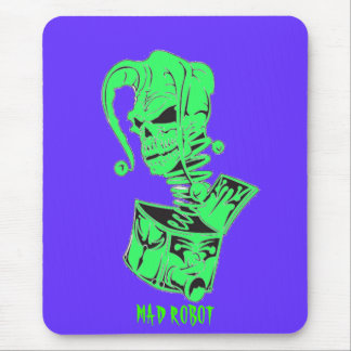 jester skull/ jack in the box mouse pad