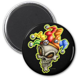 Jester Skull Magnet