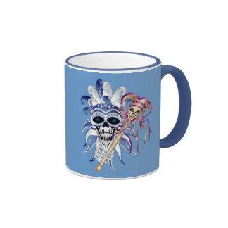 Jester Skull Coffee Mug