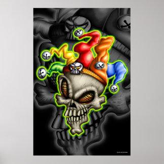 Jester Skull (Poster)