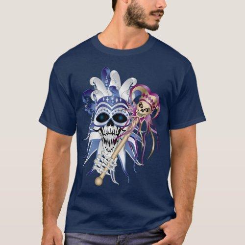 Jester Skull T_Shirt