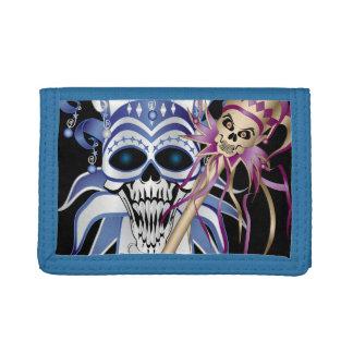 Jester Skull Trifold Wallets