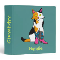 Jester the cat collie binder