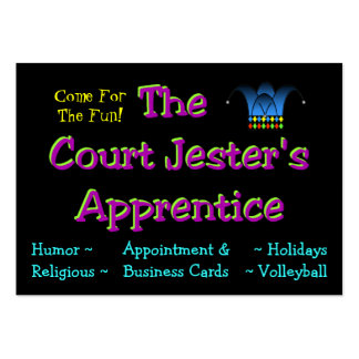 Jester's Calling Card Large Business Cards (Pack Of 100)