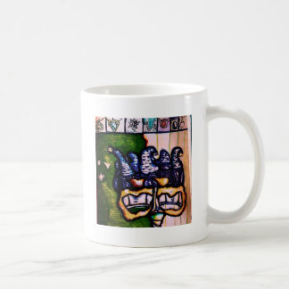 Jester's Hand an Interpretive Dance Coffee Mug