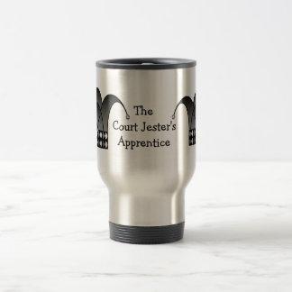 Jester's Modern Chalice (b&w) Travel Mug