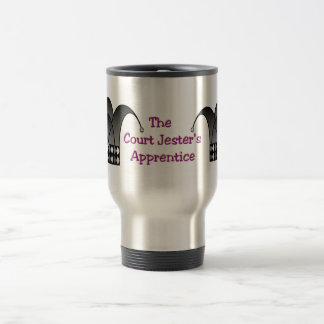 Jester's Modern Chalice (color text) Travel Mug