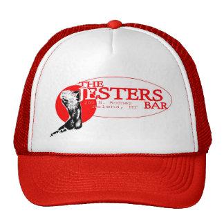 Jesters Pretty Girl on red Trucker Hat