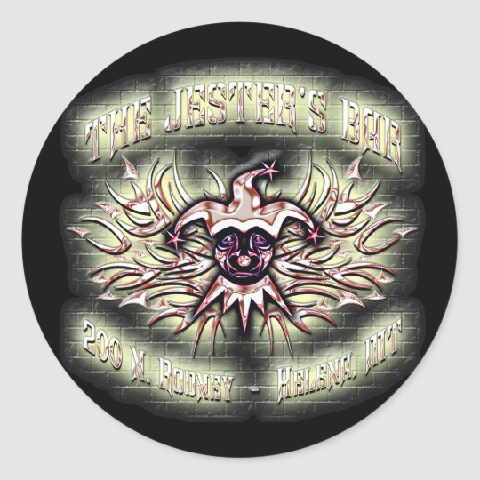 jesters sticker # 2