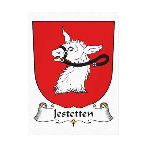 Jestetten Family Crest Canvas Prints
