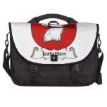 Jestetten Family Crest Laptop Bag