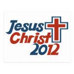 Jesucristo 2012 postal