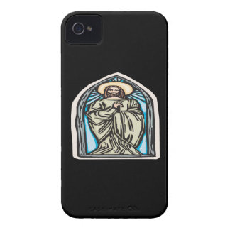 Jesucristo Case-Mate iPhone 4 Protectores