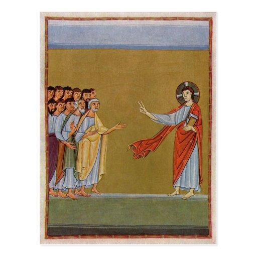 Jesucristo circa 1010 tarjetas postales