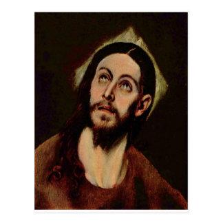 Jesucristo circa 1580-1585 postales