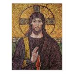 Jesucristo con el mosaico de la llama del Espíritu