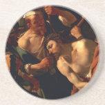 Jesucristo con la corona de espinas posavasos diseño