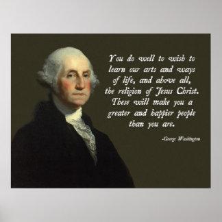 Jesucristo de George Washington Impresiones