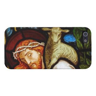 Jesucristo el buen pastor iPhone 5 fundas