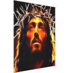 Jesucristo el salvador lienzo envuelto para galerias