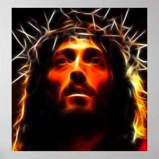 Jesucristo el salvador póster