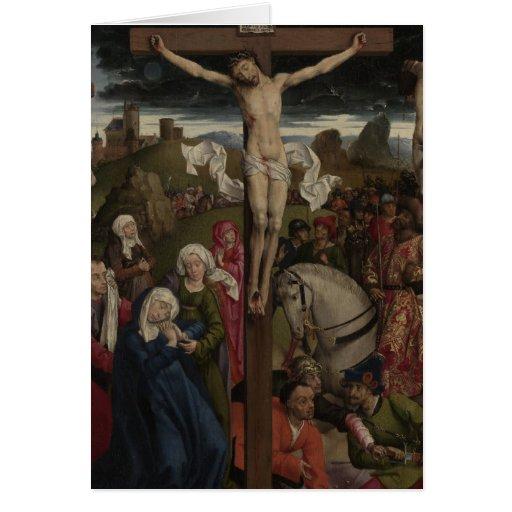 Jesucristo en la cruz felicitacion