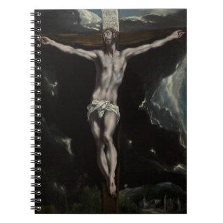 Jesucristo en la cruz libro de apuntes
