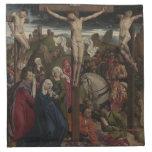 Jesucristo en la cruz servilleta