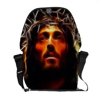 Jesucristo la bolsa de mensajero del salvador bolsa de mensajeria