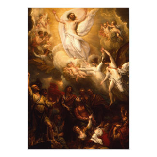 """Jesucristo la resurrección invitación 5"""" x 7"""""""