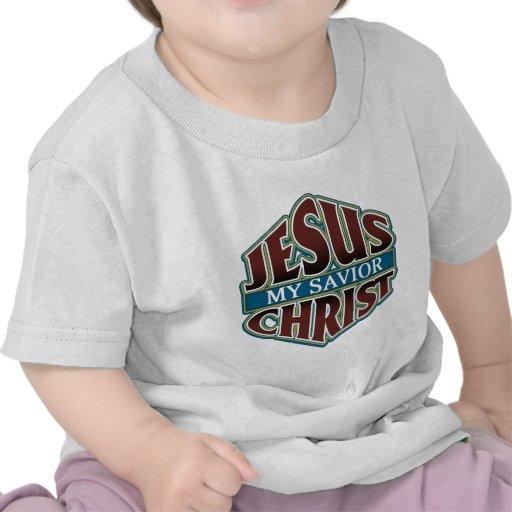 Jesucristo mi salvador camisetas