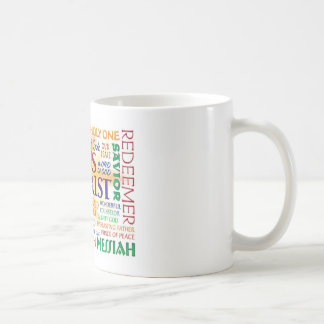 JESUCRISTO, NOMBRES DEL NOMBRE SOBRE TODO TAZA DE CAFÉ