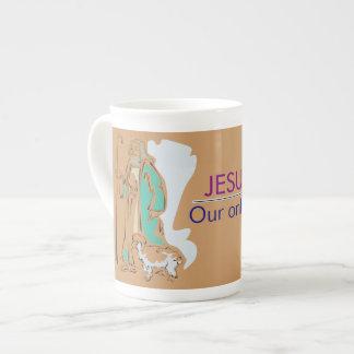 JESUCRISTO - NUESTRA SOLAMENTE MANERA A DIOS TAZA DE TÉ