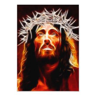 """Jesucristo nuestro salvador invitación 5"""" x 7"""""""