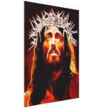 Jesucristo nuestro salvador lona estirada galerías
