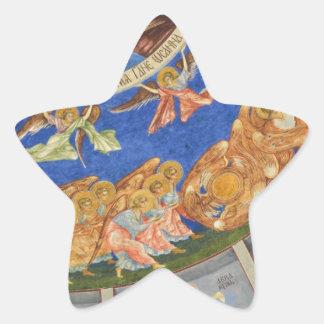 Jesucristo Pegatina Forma De Estrella