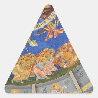 Jesucristo Calcomanías Trianguloes