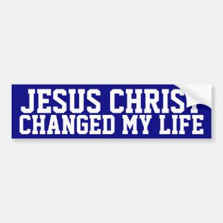 Jesucristo Pegatina Para Auto