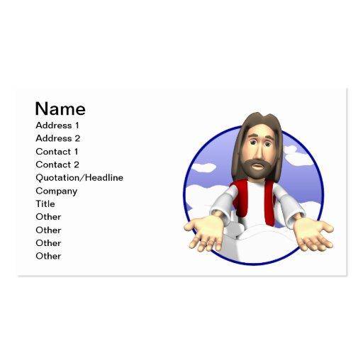 Jesucristo Plantillas De Tarjetas De Visita