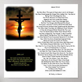 Jesucristo Póster