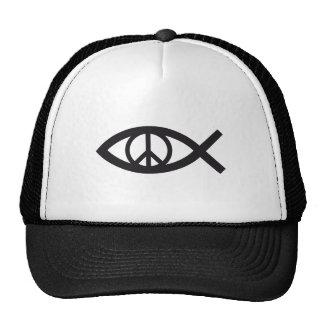 Jesucristo, símbolo cristiano de los pescados, sig gorra