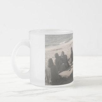 Jesucristo y discípulos - colección taza cristal mate